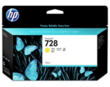 HP HP728インクカートリッジイエロー 130ml F9J65A