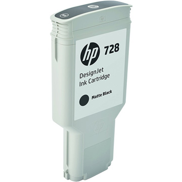HP HP728インクカートリッジマットブラック 300ml F9J68A