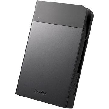 バッファロー ICカードロック解除 ポータブルSSD 240GB ブラック SSD-PZN240U3-BK