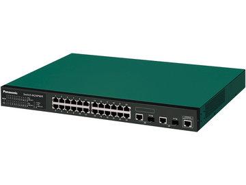 パナソニックLSネットワークス PoE 24ポートL2スイッチ Switch-M24PWR PN232499