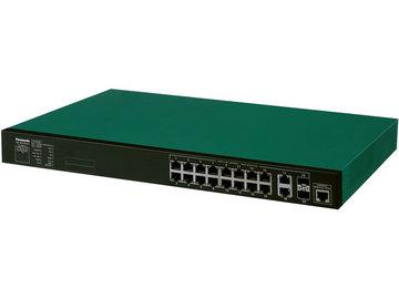 パナソニックLSネットワークス 16ポート PoEスイッチ XG-M16TPoE+ PN83169