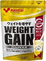 ウエイトゲイン アドバンス バナナラテ風味1kg×6袋【まとめ買い】