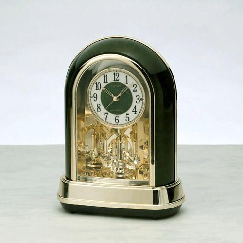 CITIZEN (シチズン) メロディ電波時計 置時計 RN427 (メロディ12曲入り) 【ギフト 出産内祝 結婚内祝 結婚式引出物 快気祝 法事引出物 香典返し お返し 各種内祝 引出物 景品】