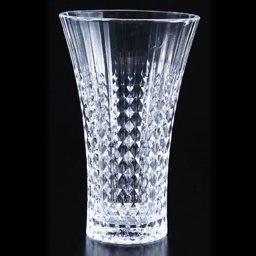 CRISTAL D'ARQUES (クリスタルダルク) レディーダイヤモンド フラワーベース 花瓶 【ギフト 出産内祝 結婚内祝 各種内祝 引出物 景品】