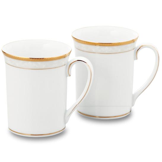 Noritake (ノリタケ) ハンプシャーゴールド ペアマグカップ 【ギフト 出産内祝 結婚内祝 結婚式引出物 快気祝 各種内祝 引出物 景品】