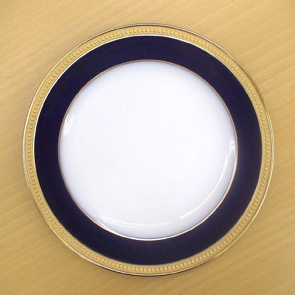 皇室御用達 大倉陶園 日本製 ロイヤルブルークラウン 20cmケーキ皿 【ギフト 出産内祝 結婚内祝 結婚式引出物 快気祝 法事引出物 香典返し お返し 各種内祝 引出物 景品】