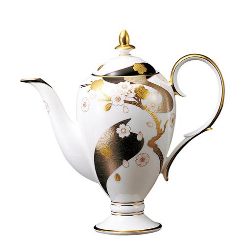 Noritake (ノリタケ) 日本製 あやみなも コーヒーサーバー ティーポット 【ギフト 出産内祝 結婚内祝 結婚式引出物 快気祝 法事引出物 香典返し お返し 各種内祝 引出物 景品】