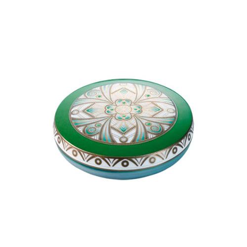 Noritake (ノリタケ) 日本製 オマージュコレクション デコグリーン 蓋物 【ギフト 結婚内祝 お返し 各種内祝 引出物】