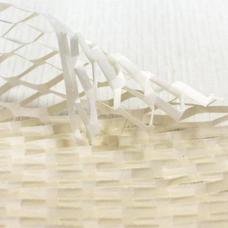 クッションペーパー カラー アイボリー 2000枚セット包装資材/引越用品/引越資材/梱包用品/梱包資材/養生用品/ハニーペーパー