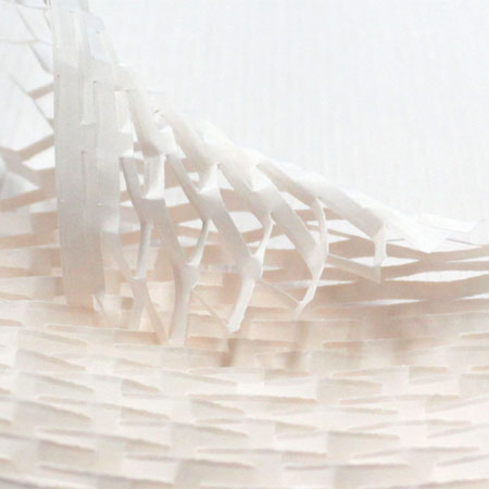 クッションペーパー カラー チェリー 2000枚セット包装資材/引越用品/引越資材/梱包用品/梱包資材/養生用品/ハニーペーパー