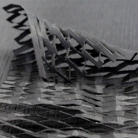 クッションペーパー カラー ブラック 2000枚セット包装資材/引越用品/引越資材/梱包用品/梱包資材/養生用品/ハニーペーパー