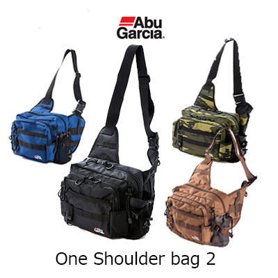 AbGarcia one shoulder bag 2 AbuGarcia One Shoulder bag 2 fishing tackle fishing bag storing dike off shore shoulder spin fishing rod holder pliers holder