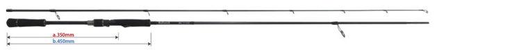 高潮蛾空白巴厘杆86L TZ纳米YAMAGA BLANKS Ballistick 86L TZ/NANO钓具钓鱼海公共汽车鱼竿铃木推荐的机关邮购鱼竿竿子盐诱饵插头海公共汽车游戏