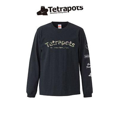 テトラポッツ カモロング TEE TPT-030 長袖 モンゴル800 モンパチ (テトラポット)Tetrapots CAMO-LONG-TEE TPT030釣り具 フィッシング Tシャツ 長袖 トップス ロンT 磯釣り ルアー モンパチ モンゴル800 高里悟