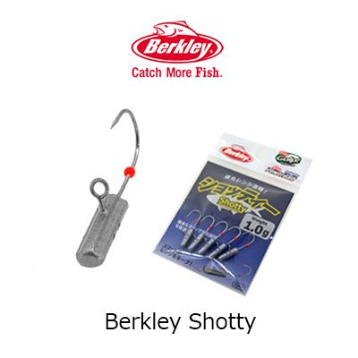 バークレイショッティ (jig head for アジング) Berkley Shotty (Jig Head for Ash) mail order fishing tackle フィッシングソフトルアーワームアジングキスライトゲームソルト