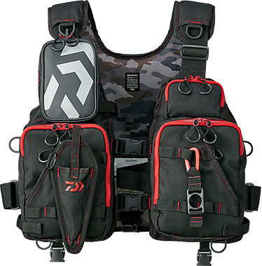 Daiwa float game best DF-6206 life jacket floating best DAIWA FLOAT GAME VEST DF6206 fishing tackle fishing floating best life preserver ライフジャケットウェーディング