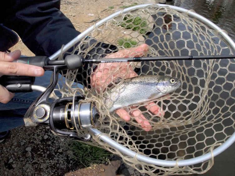 Abu Garcia MASS BEAT EXTREME MES-622UL trout fishing spinning rod New Japan