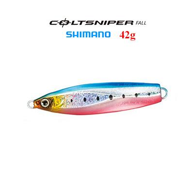 SHIMANO metal jig JM-205M Colt sniper fall 42 g SHIMANO COLTSNIPER FALL 42  g fishing tackle fishing lure metal jig Masa Hira yellowtail bluish-skinned