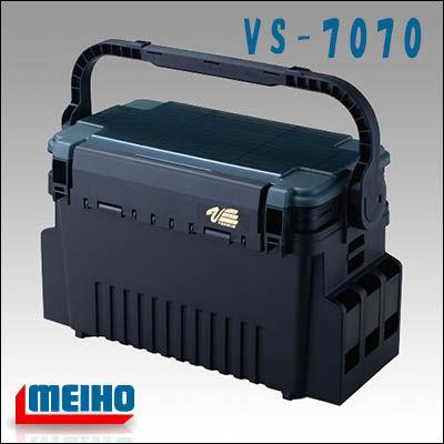 明 k.化学 VS 7070 MEIHO VS 7070 捕鱼设备渔具箱存储阑干 VS 系列杆持有人黑鲈鱼土地案子夜鹰船鳟鱼地区管理钓鱼现货