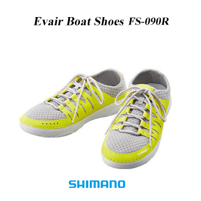 c917ca675 (stock limit special price) SHIMANO Evair boat shoes FS-090R yellow shoes  deck shoes SHIMANO Evair Boat Shoes YELLOW mail order fishing tackle  fishing shoes ...