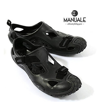 2e25da71cc835 マヌアーレオールテレインサンダルカラー  All black weather type MANUALE ALL Terrain SANDAL mail  order fishing tackle fishing sandals shoes off shore land っ ...