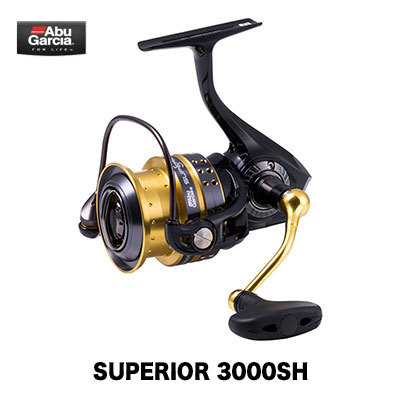 AbGarcia 19 superior 3000SH(0036282968349) spinning reel Abu Garcia  Superior 3000SH fishing tackle fishing spinning reel large-mouth bass sea  bus