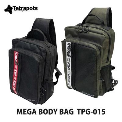 【あす楽対応】テトラポッツ ショルダーバッグ メガボディバッグ TPG-015モンゴル800 モンパチ (テトラポット)Tetrapots Mega Body Bag TPG-015釣り具 フィッシング 収納 リュック バッグ タウンユース 通勤 通学 磯釣り ルア