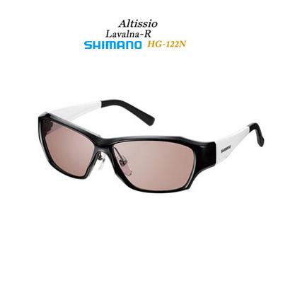 【あす楽対応】シマノ サングラス 偏光グラス HG-122N ラヴァルナRフレームカラー:ブラック/ホワイトSHIMANO Sunglasses HG122N Lavalna R FrameColor:Black-White サングラス 偏光グラス フィッシング 釣り具 アクセサリー アイウェア ソ