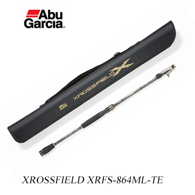 Abu Garcia cross-field XRFS-864ML-TE Abu Garcia XROSSFIELD XRFS-864ML-TE fishing equipment fishing Garcia saltwater lures Chivas jerking square Rod Compact Road Pack road