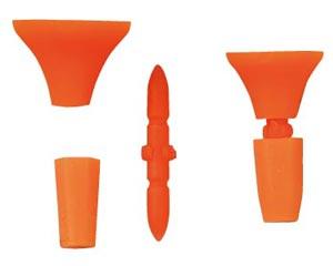 Kizakura 垫塞 (橙色) 2 与捕鱼起重配件塞子靠垫 fs3gm