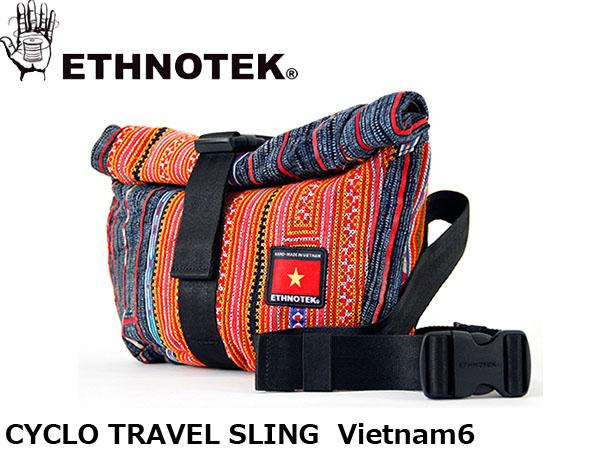 送料無料 エスノテック ETHNOTEK ショルダーバッグ ボディバッグ Cyclo Travel Sling Vietnam6 シクロトラベルスリング ベトナム6 ワンショルダー カバン 鞄 ETH19730023009000
