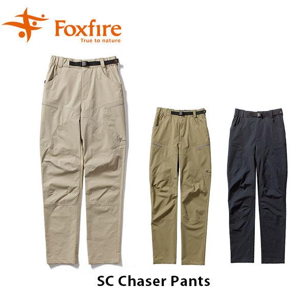 送料無料 フォックスファイヤー Foxfire SCチェイサーパンツ SC Chaser Pants メンズ ロングパンツ スコーロン 防虫 ストレッチ キャンプ アウトドア 5214069 FOX5214069 国内正規品