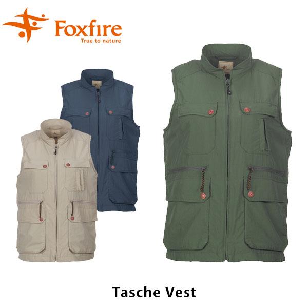 送料無料 フォックスファイヤー Foxfire レディース W・タッシュベスト ベスト ハイキング 登山 ファッション 山ガール ファッション トレッキング アウトドア キャンプ 女性用 TaSChe Vest FOX8010549
