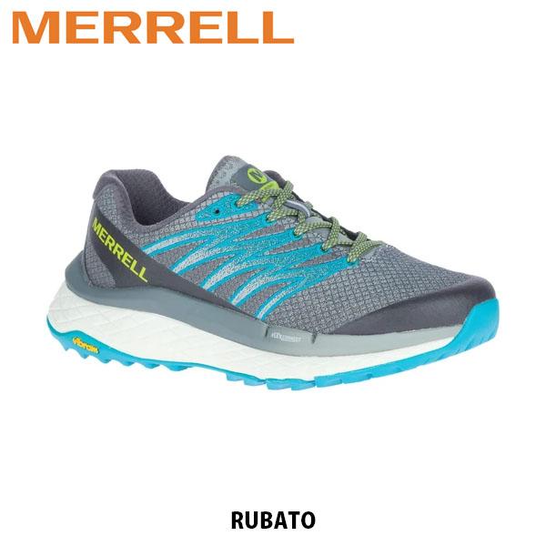 2020年秋冬 靴 送料無料 好評 メレル MERRELL ルバート エイチブイ モニュメント RUBATO 送料込 ハイキング アウトドア スニーカー レディース MERW135252 MONUMENT トレイルランニングシューズ トレラン J135252