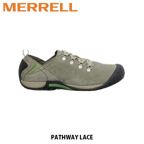 送料無料 メレル MERRELL パスウェイ レース オリーブ メンズ アウトドア ウォーキング 登山 スニーカー シューズ 靴 男性用 J6002175 MERM6002175