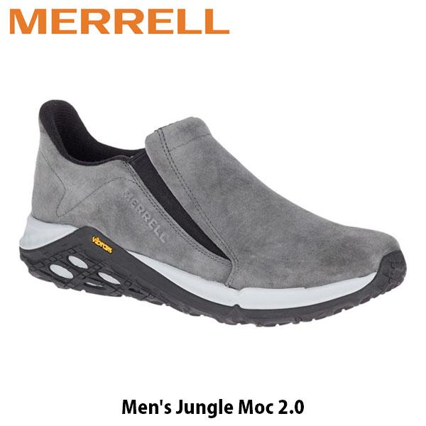 送料無料 メレル メンズ スリッポン Jungle Moc2.0 ジャングル モック2.0 シューズ スニーカー 靴 ビブラムソール アウトドア キャンプ カジュアル グラナイト MERRELL 94523 MERM94523