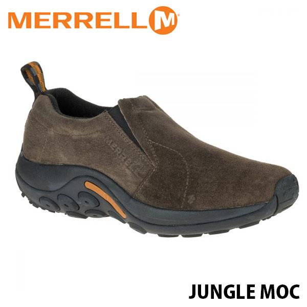 送料無料 メレル ジャングルモック レディース ガンスモーク アウトドア ウォーキング 登山 レザー スリッポン スニーカー シューズ 靴 おしゃれ 女性用 MERRELL JUNGLE MOC GUNSMOKE 60788 MERW60788