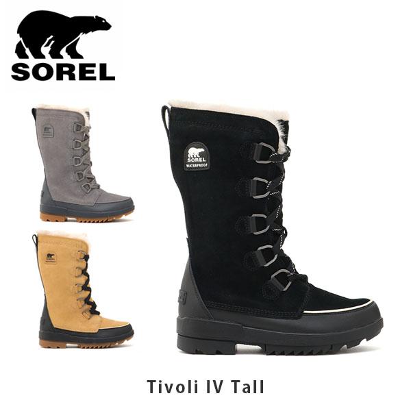 送料無料 ソレル スノーブーツ レディース SOREL Tivoli IV Tall ティボリIVトール シューズ 靴 ブーツ 防水 ウィンターブーツ カジュアル レディース SORNL3426