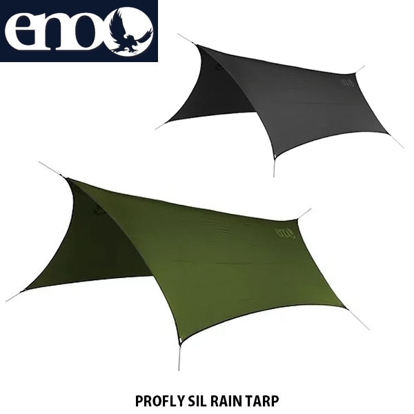 eno イノー 超軽量型タープ PROFLY SIL RAIN TARP ハンモック専用タープ アウトドア ENO012