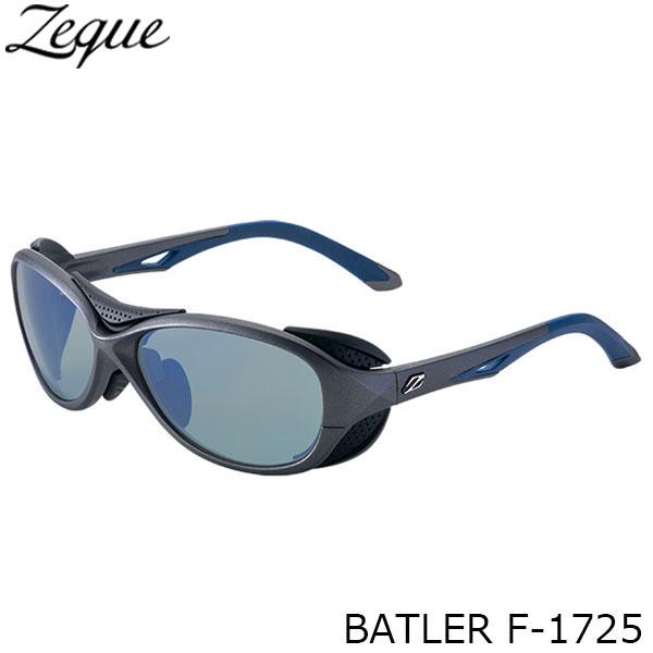 送料無料 ジールオプティクス 偏光サングラス F-1725 BATLER GUNMETAL×NAVY MASTER BLUE 釣り フィッシング アウトドア メンズ レディース 偏光グラス 偏光レンズ ZEAL OPTICS GLE4580274166658