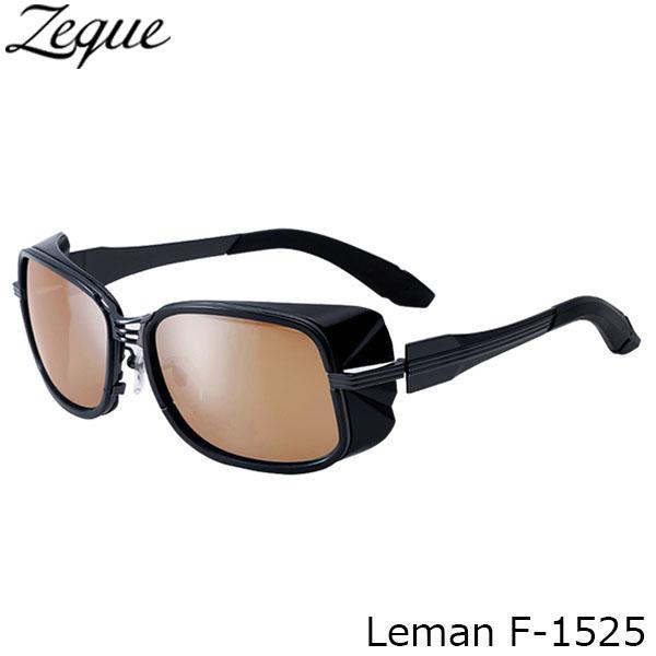 送料無料 ジールオプティクス 偏光サングラス F-1525 Leman GUNMETAL×BLACK LUSTER ORANGE×SILVER MIRROR 釣り フィッシング アウトドア メンズ レディース 偏光グラス 偏光レンズ ZEAL OPTICS GLE4580274166948