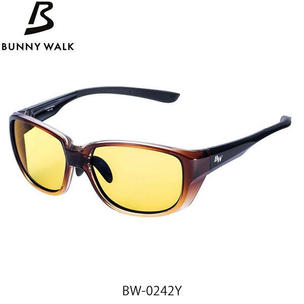 偏光グラス フィッシング 釣具 BUNNY 正規品 WALK バニーウォーク 偏光サングラス 1着でも送料無料 HALF ハーフブラウン×ブラック YELLOW×NIGHT BROWN×BLACK GLE4580274171584 GLASSES BW-0242Y