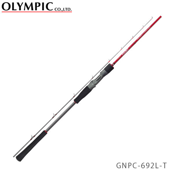 送料無料 OLYMPIC オリムピック 釣竿 タイラバ TAIRUBBER Nuovo PAGRO ヌーボ パグロ GNPC-692L-T OLY4571105691227