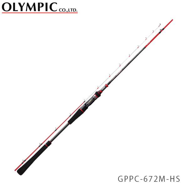 送料無料 OLYMPIC オリムピック 釣竿 タイラバ TAIRUBBER PAGRO PROTOTYPE パグロ プロトタイプ GPPC-672M-HS OLY4571105691777