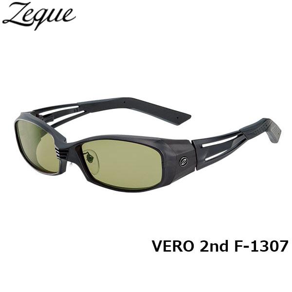 ジールオプティクス ZEAL OPTICS 偏光サングラス VERO 2nd ヴェロセカンド F-1307 オールマットブラック イーズグリーン グレンフィールド GLE4580274163367 釣り フィッシング アウトドア メンズ レディース 偏光グラス 偏光レンズ