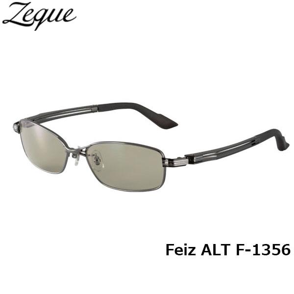 ジールオプティクス ZEAL OPTICS 偏光サングラス Feiz ALT フェイズオルタ F-1356 ガンメタル ライトスポーツ グレンフィールド GLE4580274164845 釣り フィッシング アウトドア メンズ レディース 偏光グラス 偏光レンズ