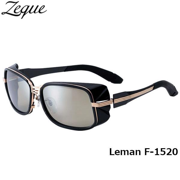 送料無料 Zeque ゼクー ジールオプティクス ZEAL OPTICS 偏光サングラス Leman レマン F-1520 ブラック×ゴールド トゥルービュースポーツ×シルバーミラー グレンフィールド GLE4580274164937 釣り フィッシング アウトドア メンズ レディース 偏光グラス 偏光レンズ