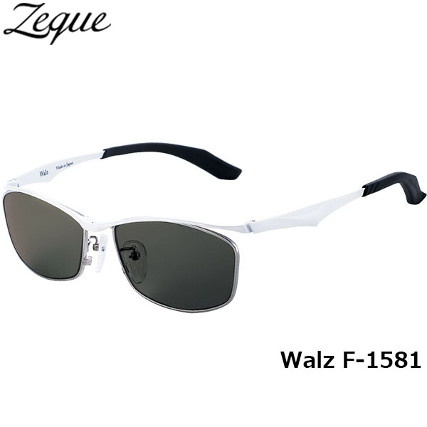 ジールオプティクス ZEAL OPTICS 偏光サングラス Walz ワルツ F-1581 ホワイト トゥルービューフォーカス グレンフィールド GLE4580274165644 釣り フィッシング アウトドア メンズ レディース 偏光グラス 偏光レンズ