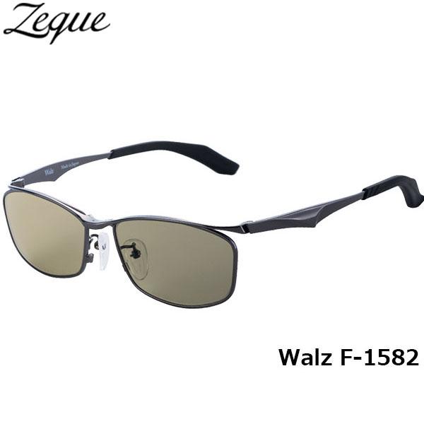 ジールオプティクス ZEAL OPTICS 偏光サングラス Walz ワルツ F-1582 ガンメタル トゥルービュースポーツ グレンフィールド GLE4580274165651 釣り フィッシング アウトドア メンズ レディース 偏光グラス 偏光レンズ