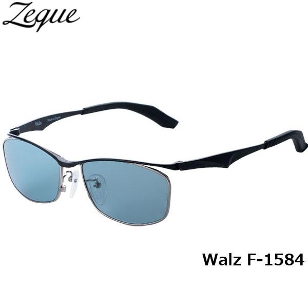 ジールオプティクス ZEAL OPTICS 偏光サングラス Walz ワルツ F-1584 ブラック マスターブルー グレンフィールド GLE4580274165675 釣り フィッシング アウトドア メンズ レディース 偏光グラス 偏光レンズ